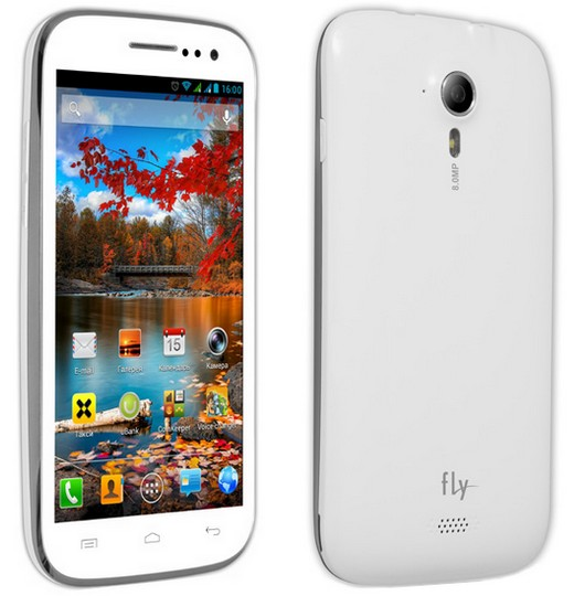 Смартфон fly iq451 vista с 5 дюймовым